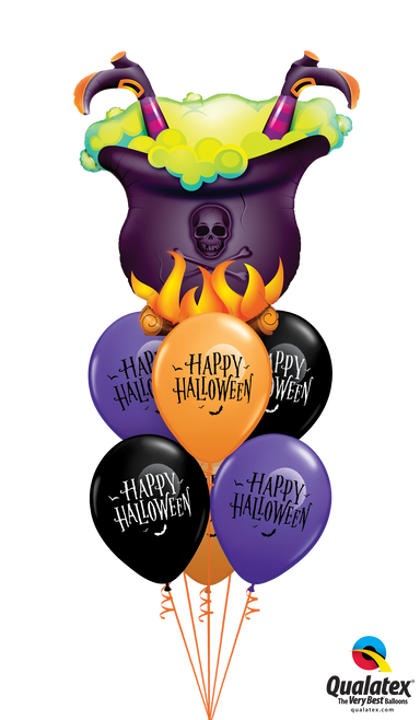 Fab Witch's Brew Balloon Bouquet - PartyFeverLtd