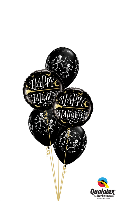 Bone Rattlin' Balloon Bouquet - PartyFeverLtd