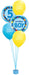 Boy's 5th Birthday Balloon Bouquet - PartyFeverLtd