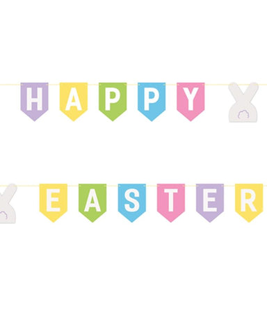 Happy Easter Pennant Banner - PartyFeverLtd