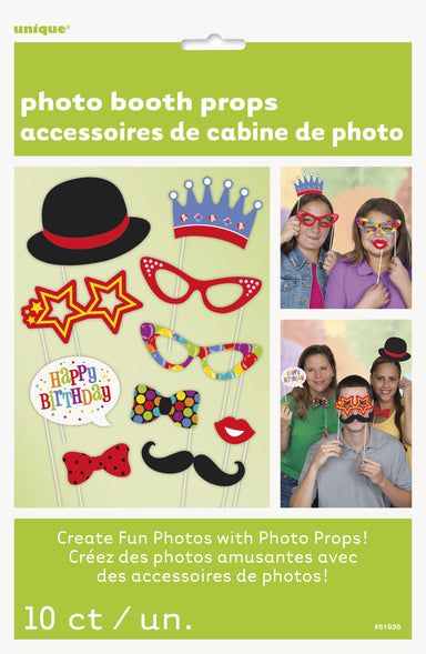Birthday Photo Props - PartyFeverLtd