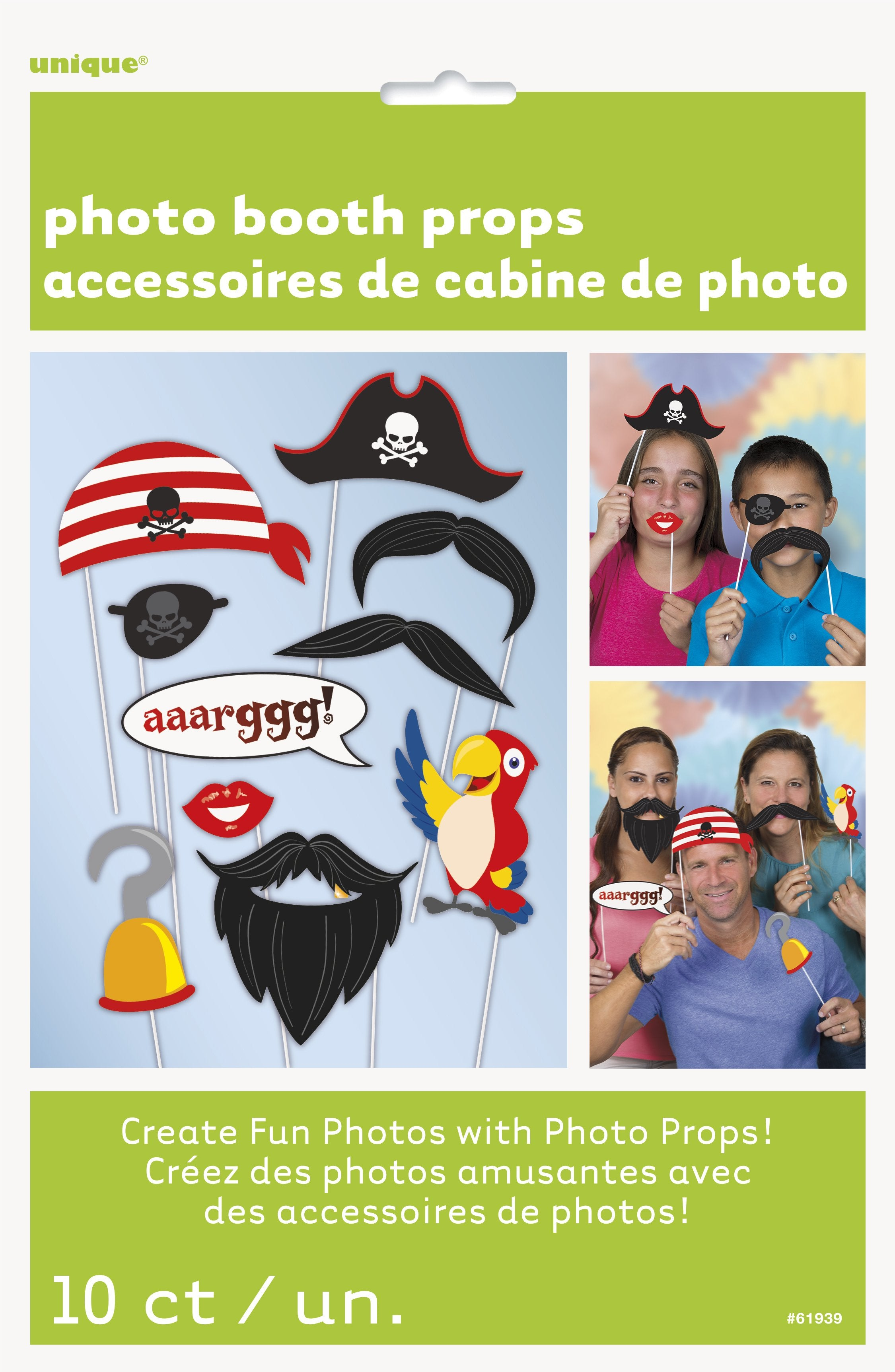 Pirate Theme Photo Props - PartyFeverLtd