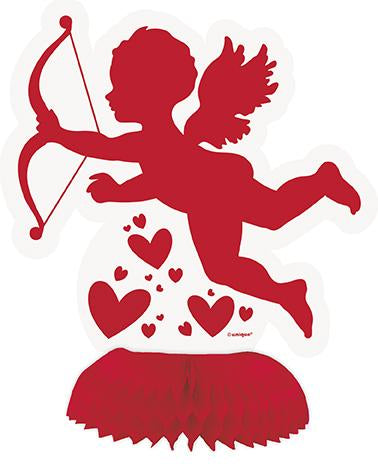 Cupid Honeycomb Decorations - PartyFeverLtd