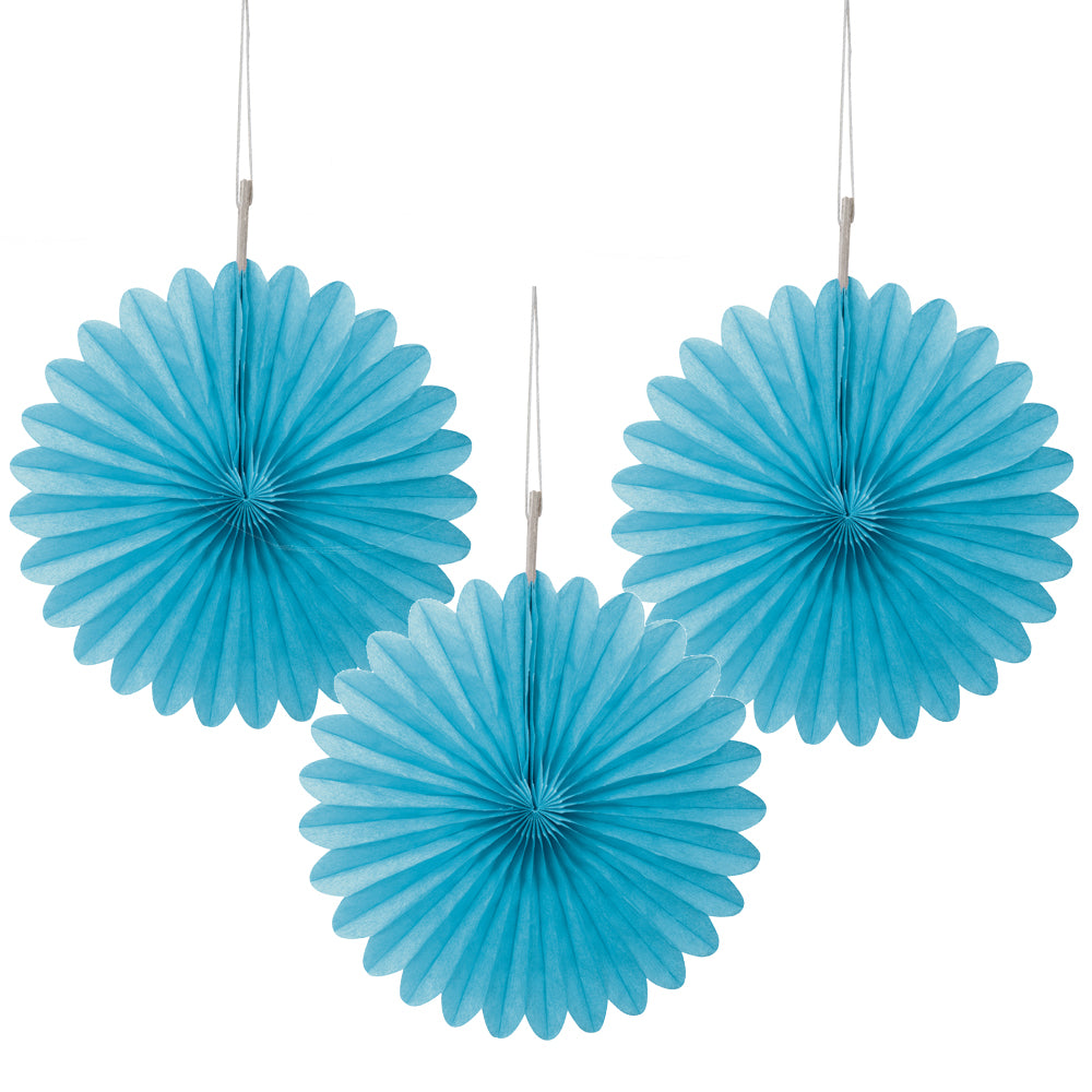 Light Blue Decorative Mini Fans