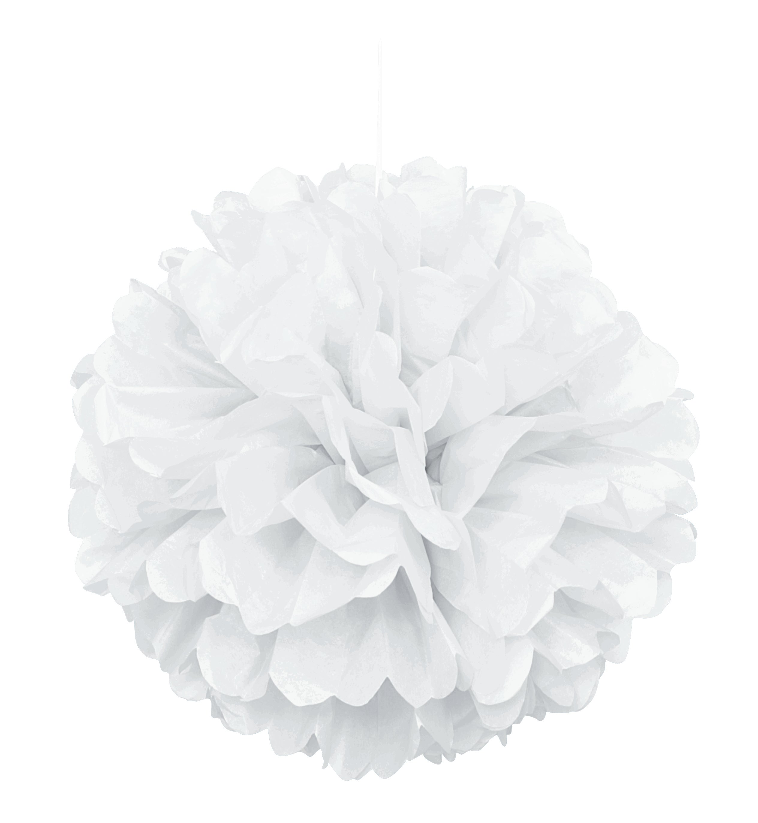 White Puff Ball Decoration