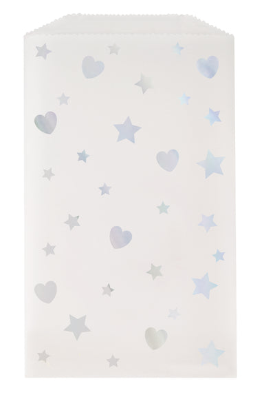 Silver Star Sweet Bags - PartyFeverLtd