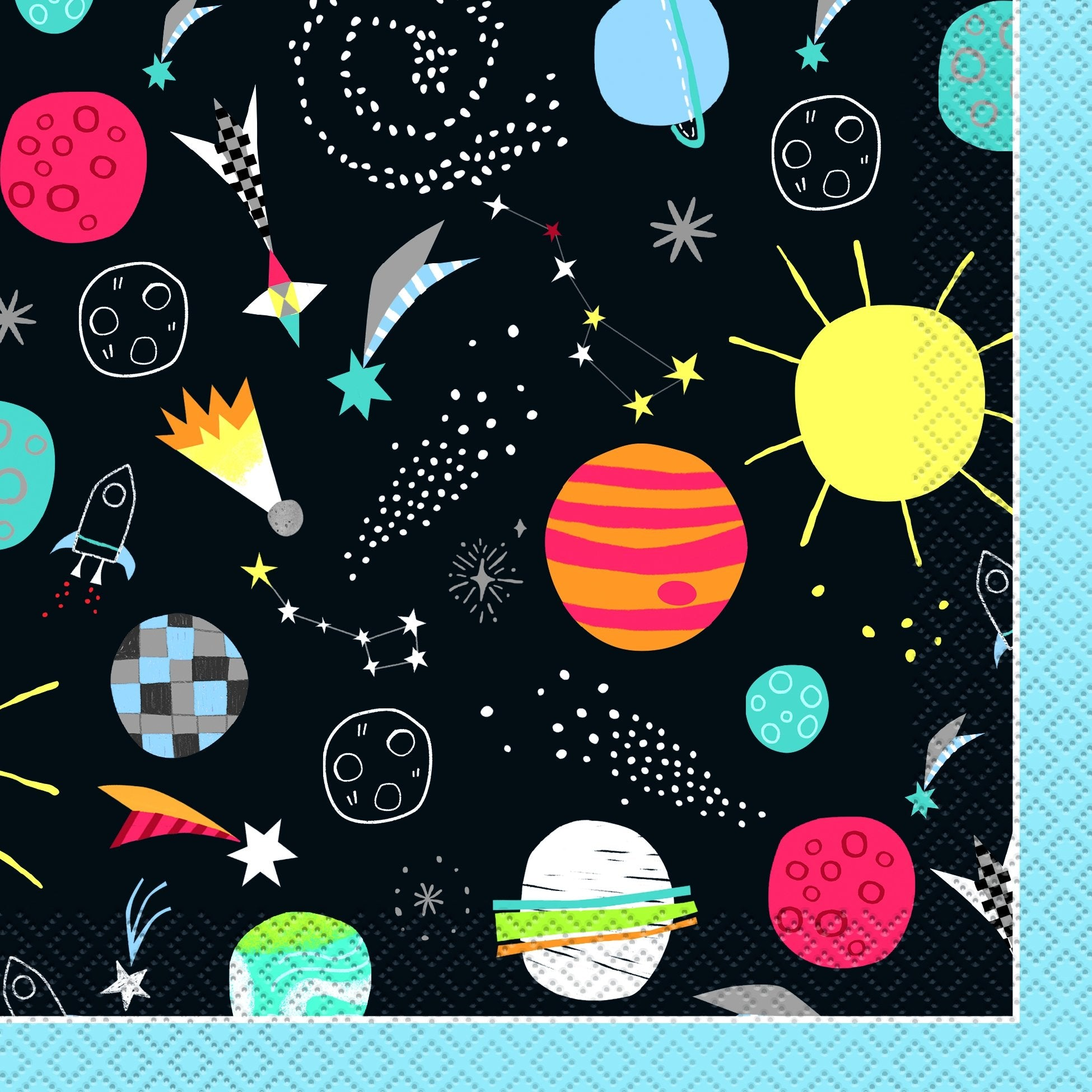 Outer Space Napkins - PartyFeverLtd