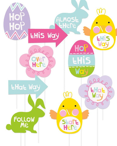 Easter Egg Hunt Signs - PartyFeverLtd