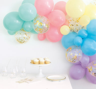 DIY Pastel Balloon Garland Kit - PartyFeverLtd