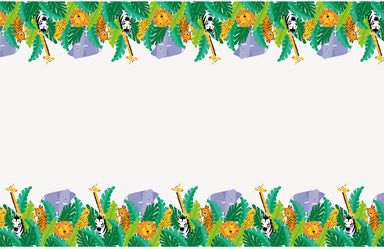 Animal Safari Party Tablecover - PartyFeverLtd