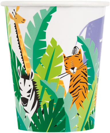 Animal Safari Party Cups - PartyFeverLtd