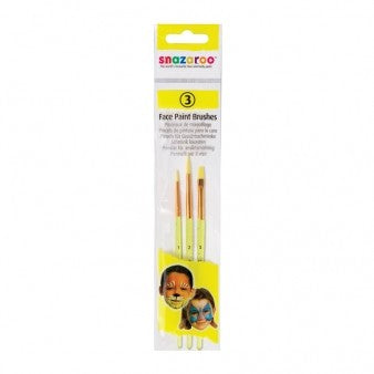 Face Painting Brushes - PartyFeverLtd