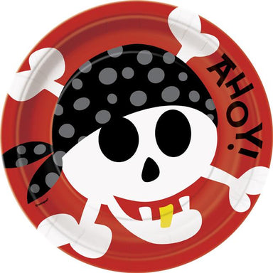 Pirate Party Plates - PartyFeverLtd