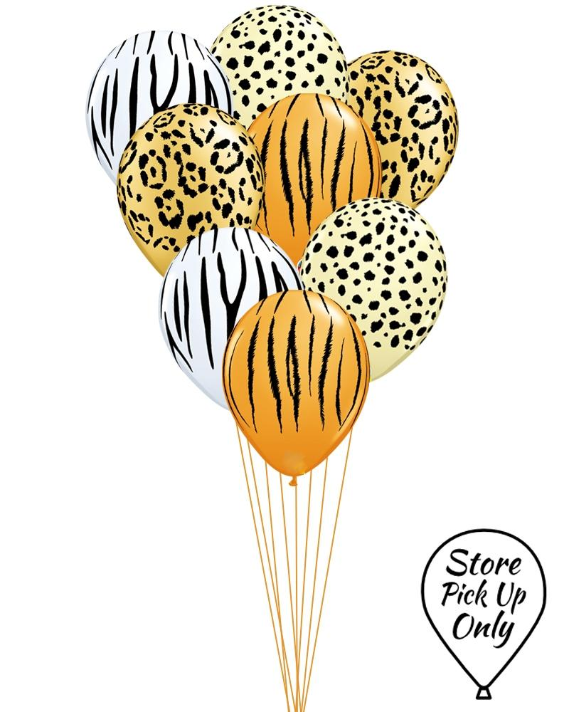 Animal Print Party Balloons - PartyFeverLtd