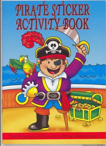 Pirate Activity Book - PartyFeverLtd