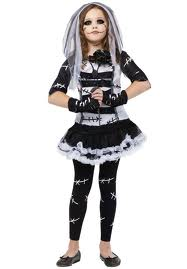 Monster Bride Child Costume - PartyFeverLtd