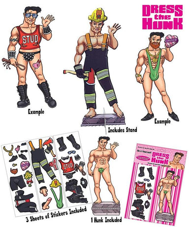 Dress The Hunk Game - PartyFeverLtd