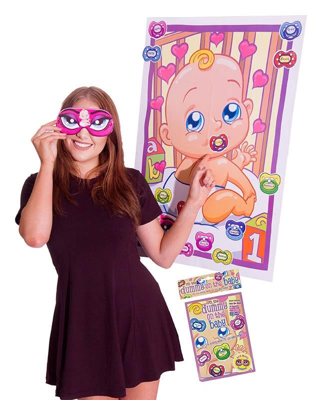 Pin The Dummy On The Baby - PartyFeverLtd