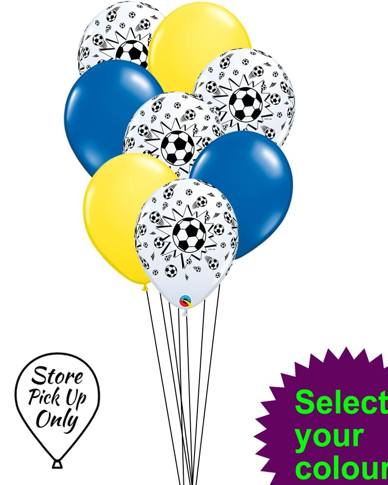 Football Mix Party Balloons - PartyFeverLtd