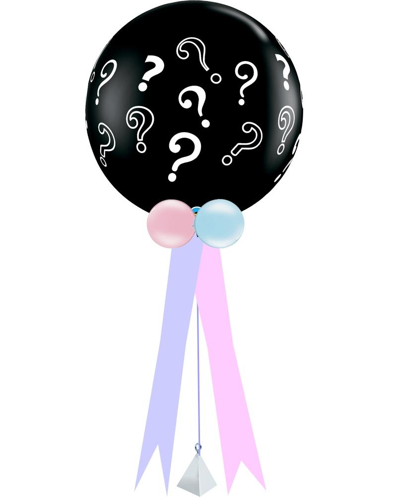 Giant Gender Reveal Balloon - PartyFeverLtd