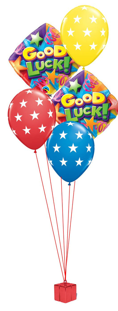 Good Luck Balloon Bouquet - PartyFeverLtd