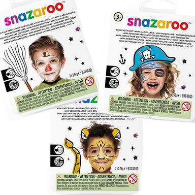 Snazaroo Mini Face Painting Kit - PartyFeverLtd