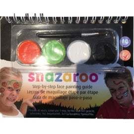 Snazaroo Halloween Face Paint Booklet - PartyFeverLtd