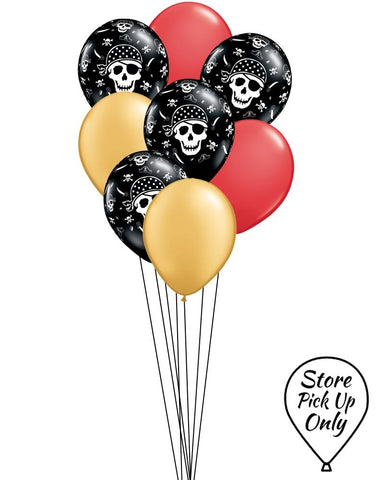 Pirate Mix Party Balloons - PartyFeverLtd