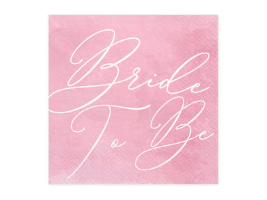Bride To Be Napkins - PartyFeverLtd