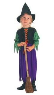 Storybook Witch Toddler Costume - PartyFeverLtd