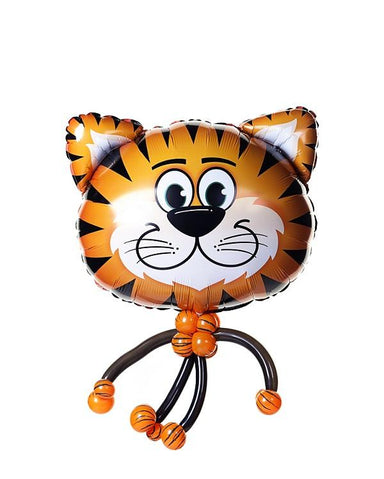 Tiger Balloon Bobble Head - PartyFeverLtd