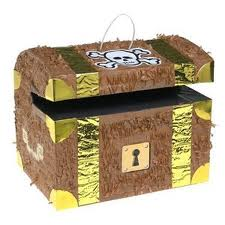 Treasure Chest Pinata - PartyFeverLtd