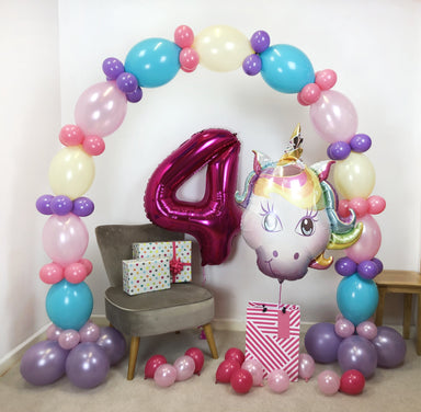 Unicorn Birthday Balloon Package - PartyFeverLtd