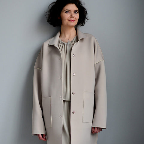 Designing The Unlined Raw-edged Coat