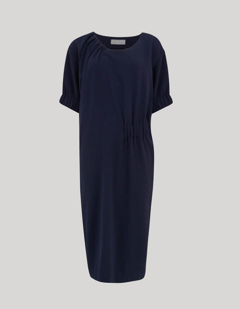 The Asymmetric Gather Dress
