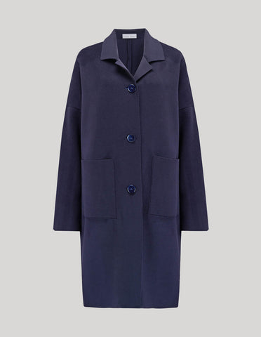 The Unlined Raw-edged Coat