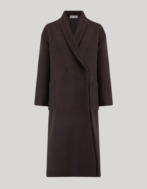 The Shawl Collar Coat