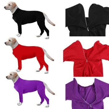 Dog Post Surgery Suit for Dogs After Operation Necessary Wound Recovery Jumpsuit