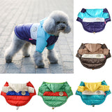 Super Warm & Fashionable Hooded Dog Coat Jacket Waterproof Winter Clothes for Your Beloved Dog