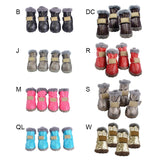 Thick Warm Dog Shoes Waterproof Winter Anti-slip Rain Boots Footwear for Your Lovely Dog
