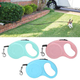 Flexi Retractable Dog Leash Belt Dog Walking Nylon Traction Rope for Your Pet Dogs 10ft /16ft long (3m/5m)