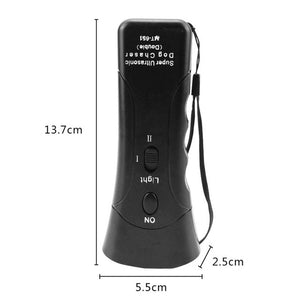 Useful Ultrasonic Anti-barking Device Dog Bark Training Repeller Control 3 in 1  Stop Bark Deterrents