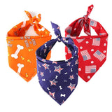 Fancy Dog Bandana Adjustable Dog Scarf Neckerchief for Your Beloved Dogs
