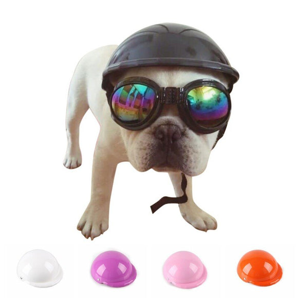 Super Cool Dog Helmet Safe Ridding Cap Motorcycle Protect Helmet For Your Beloved Dog