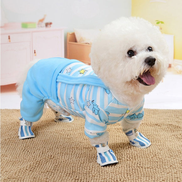 So Cute and Charming Dog Rompers Warm Jumpsuit for Your Lovely Dog