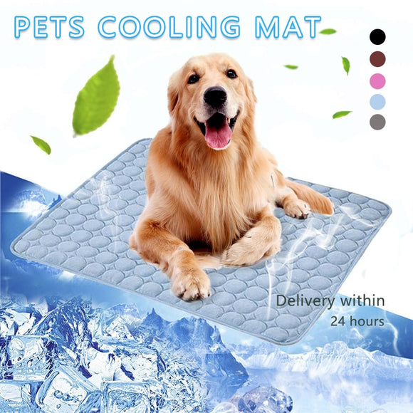 Super Cool Dog Mat Cooling Pad Moisture-Proof Cooler Mattress for Your Pet Dogs