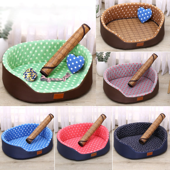 Dog Bed Soft Comfortable Puppy Sleeping Cushion Bed House Durable & Elegant