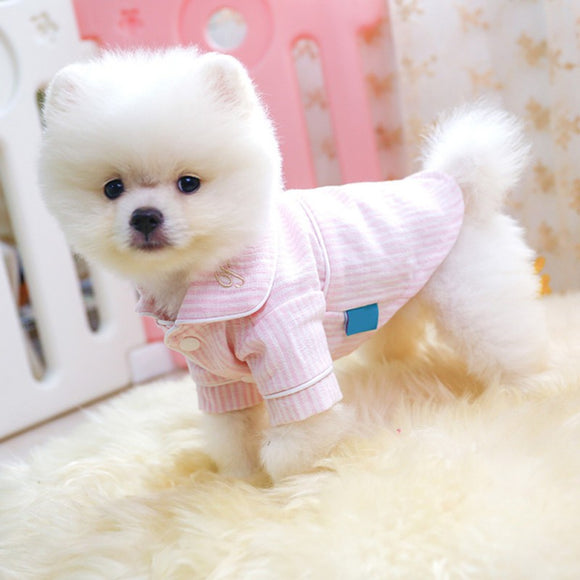 Cute Dog Pajamas Clothes Soft Silk Pet Puppy Clothes So Charming & Elegant