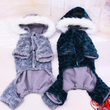 Warm Dog Jumpsuit Super Cute & Charming Thicken Dog Hoodie Clothes for Your Lovely Dog