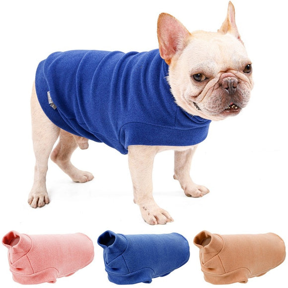 Warm Dog Coat So Elegant & Soft Puppy Sweatshirt Winter Clothes